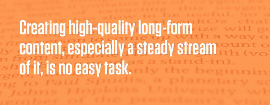 Long-form Content: Good For Lead Generation Or Wasted Effort?